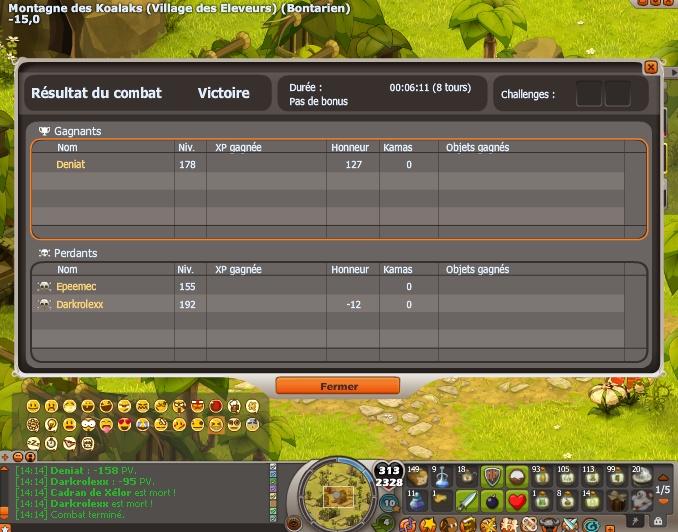 [Screen] Petit exploit  Deniat10