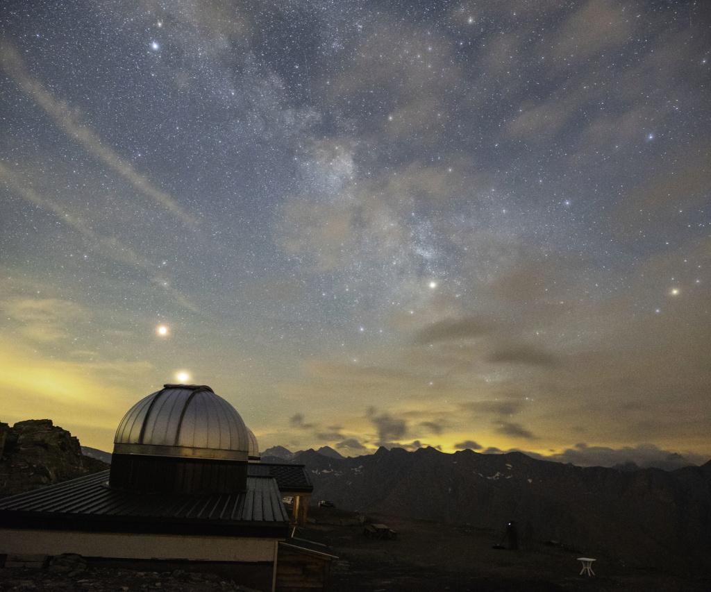 Lune sanglante et Voie Lactée Eclips10