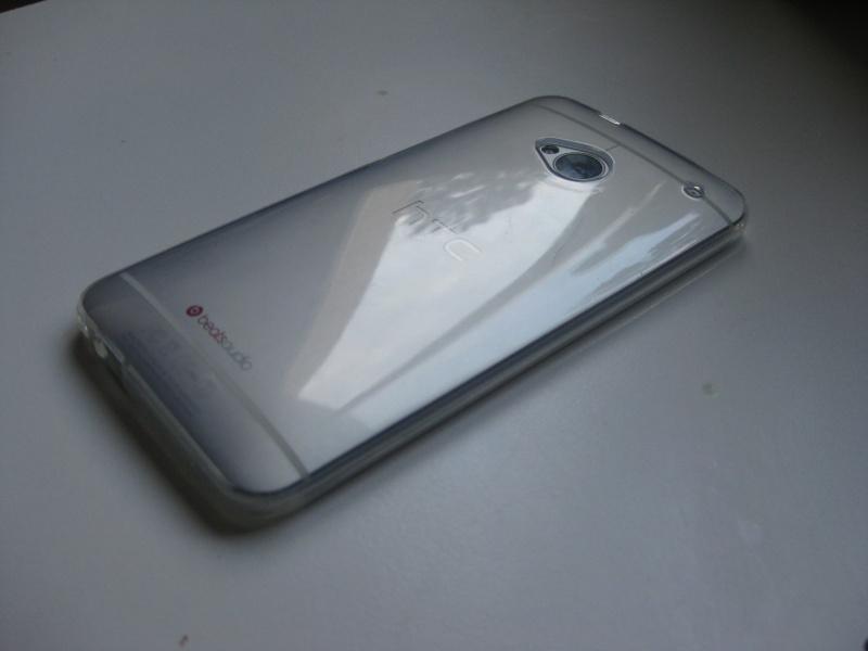 [TEST] Coque en gel transparente pour HTC One   Img_8418