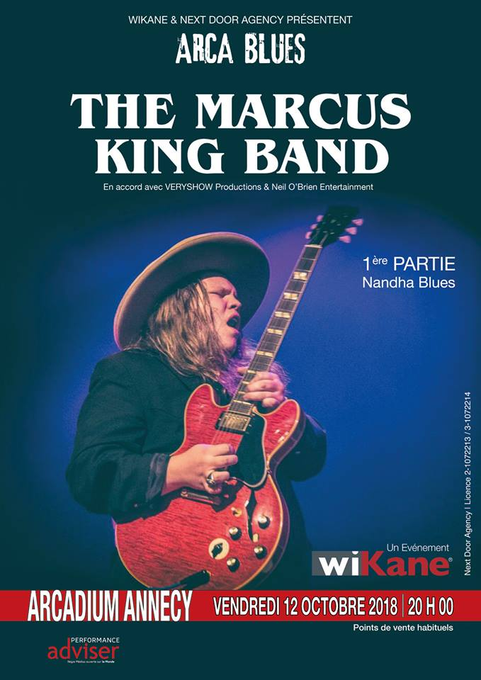 MARCUS KING BAND ANNECY 12 OCTOBRE 2018 41684310