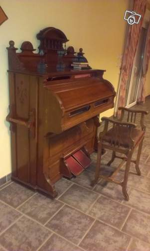 Un reed organ à donner Mason_12