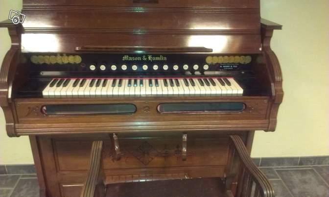 Un reed organ à donner Mason_13