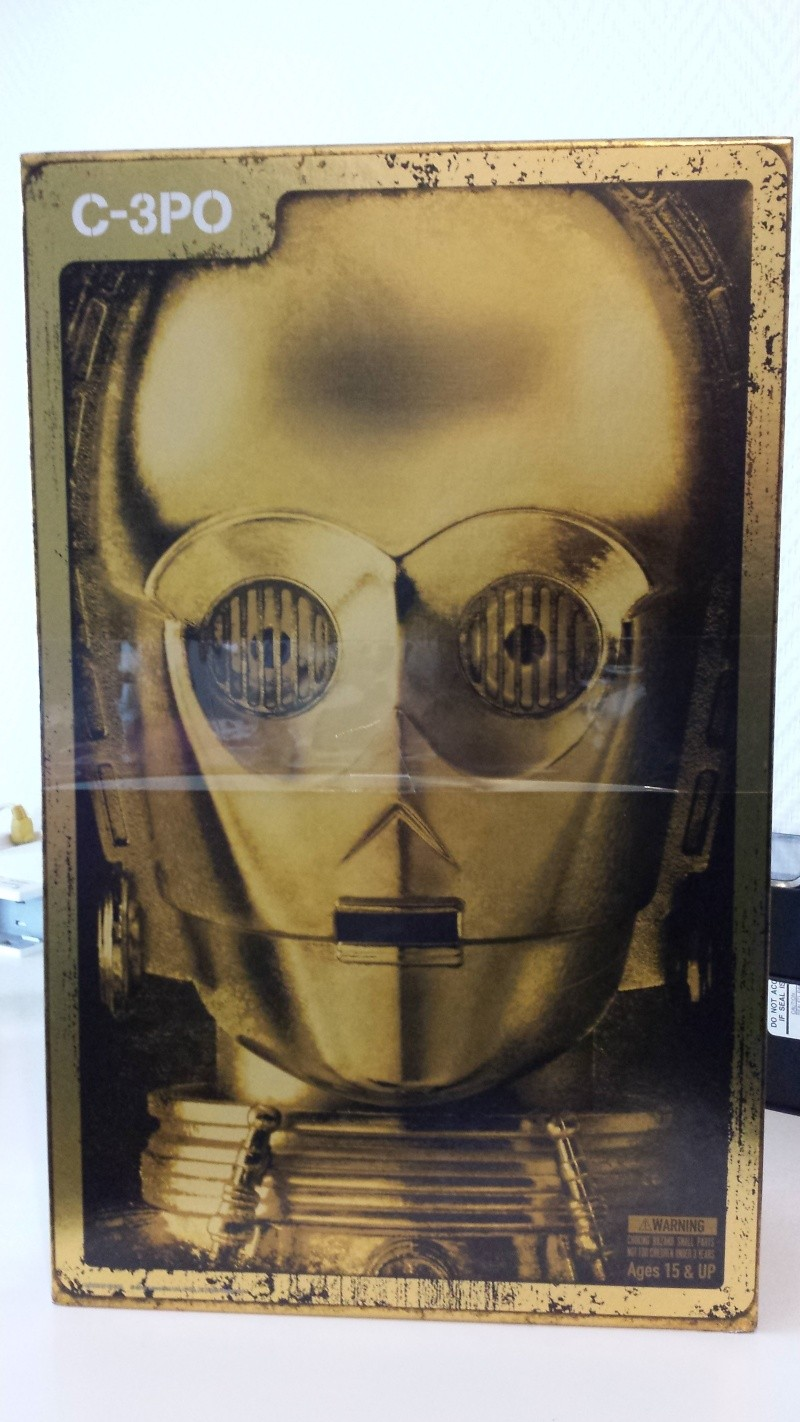 STAR WARS - C3PO - Perfect Model (TAMASHII AND SIDESHOW PERFECT CHOGOKIN) 20130619