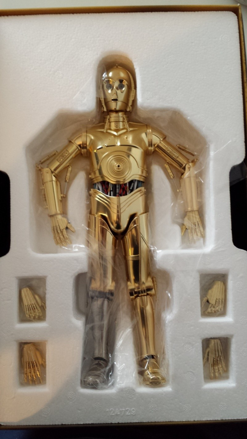 STAR WARS - C3PO - Perfect Model (TAMASHII AND SIDESHOW PERFECT CHOGOKIN) 20130623