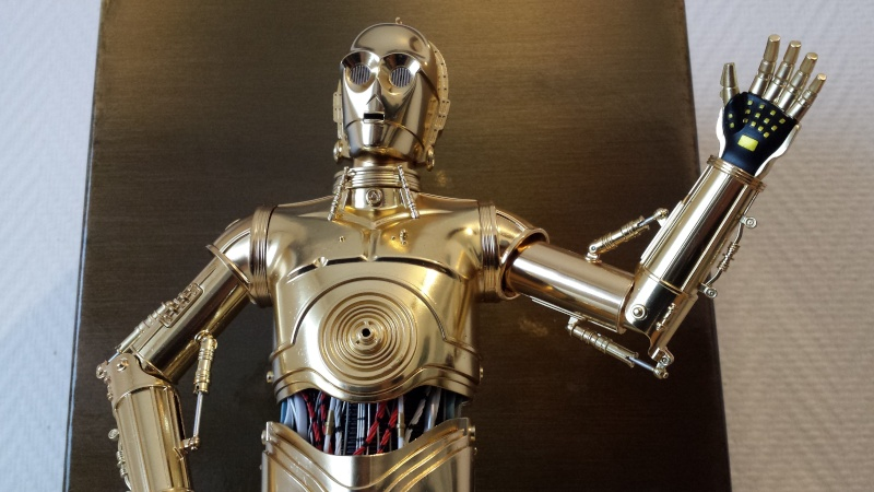 STAR WARS - C3PO - Perfect Model (TAMASHII AND SIDESHOW PERFECT CHOGOKIN) 20130627
