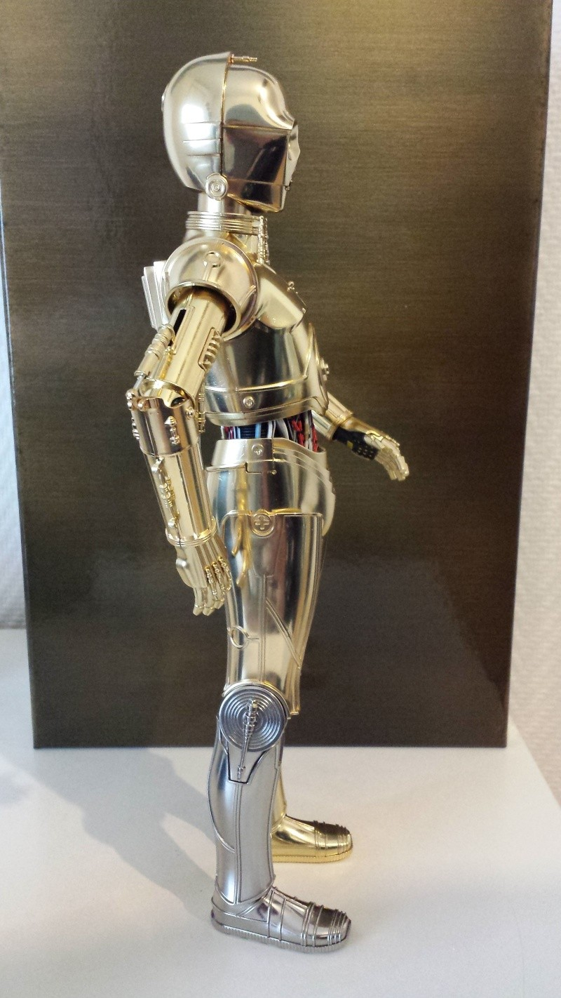 STAR WARS - C3PO - Perfect Model (TAMASHII AND SIDESHOW PERFECT CHOGOKIN) 20130629