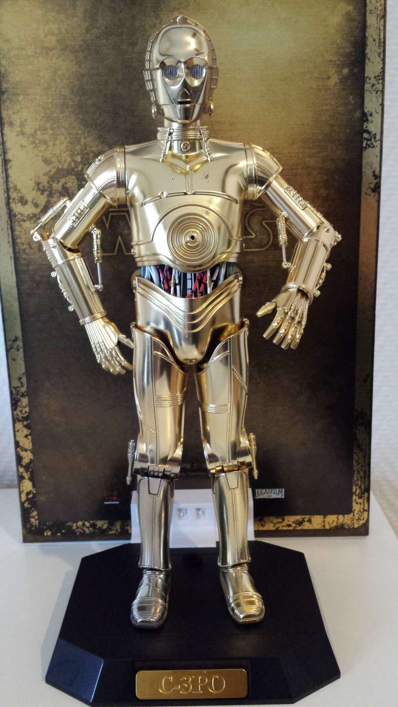 STAR WARS - C3PO - Perfect Model (TAMASHII AND SIDESHOW PERFECT CHOGOKIN) 20130630