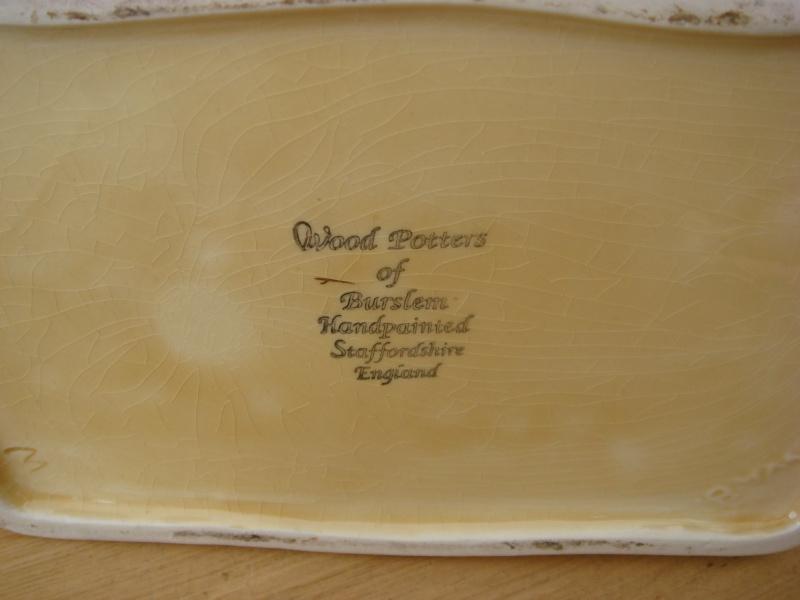Camel and rider teapot - Wood Potters of Burslem Barbad24
