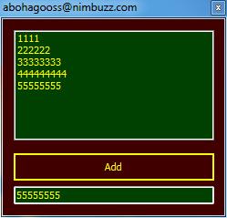 مشروع التعامل مع listBox1 بلغة Visual C# 2010 11112