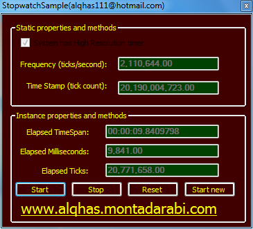StopwatchSample(Visual Basic 2008) Ououoo45