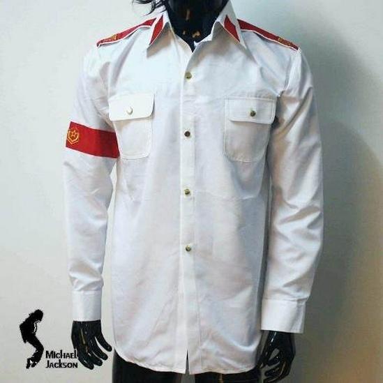 Michael Jackson Camisa Importada Cte Man In The Mirror Mj_cam10