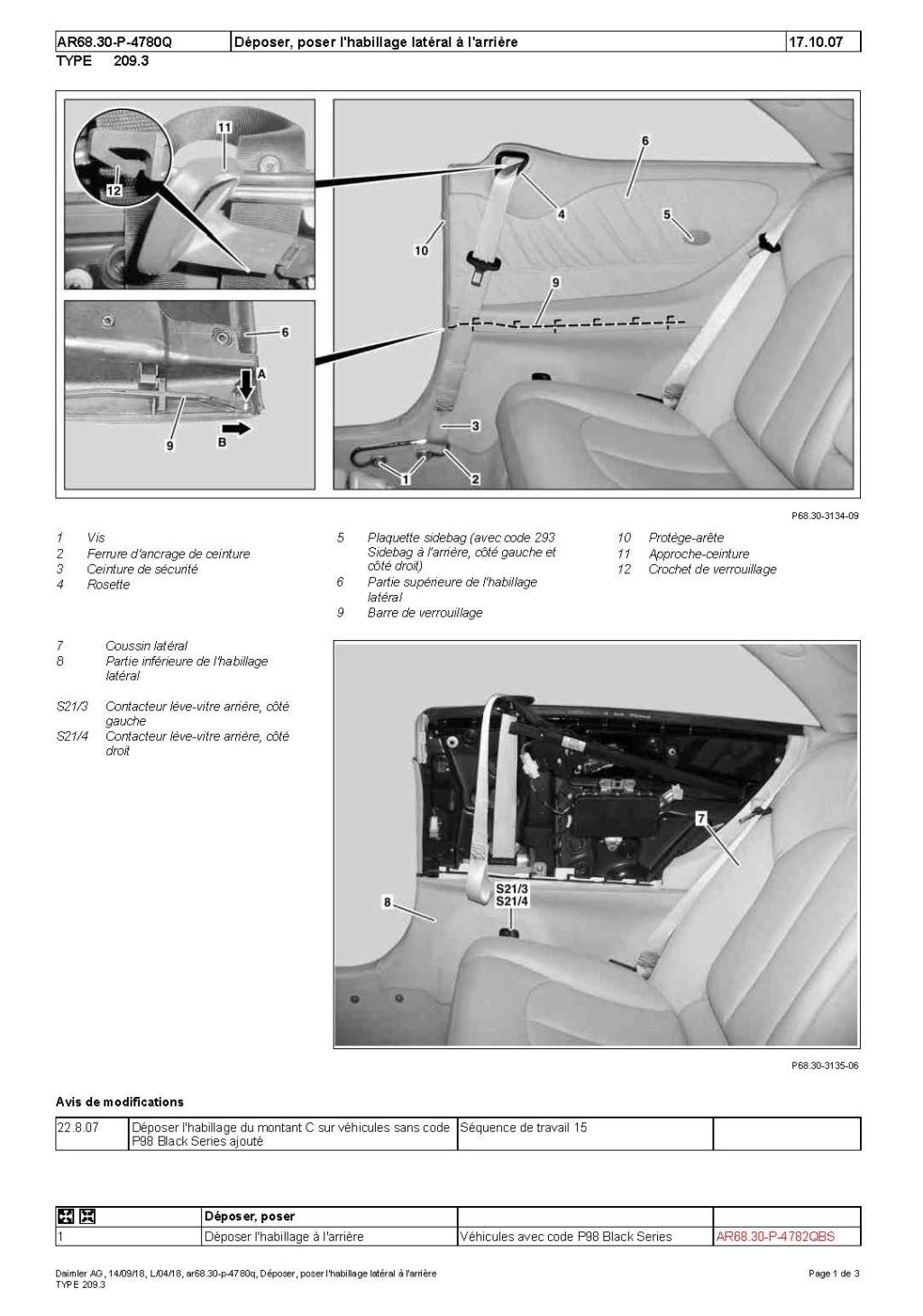 demontage mecanisme leve vitre arriere Dzopos13
