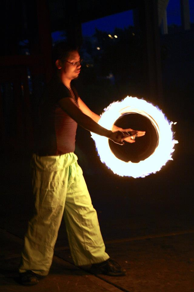 Fire Spinning in Seattle // Flow Arts Topic 60359110