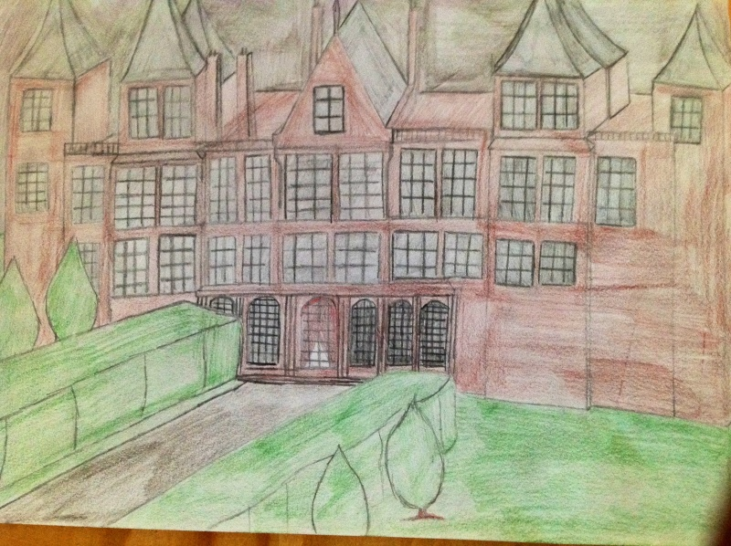 Vos Fanarts Harry Potter - Page 2 Manoir10