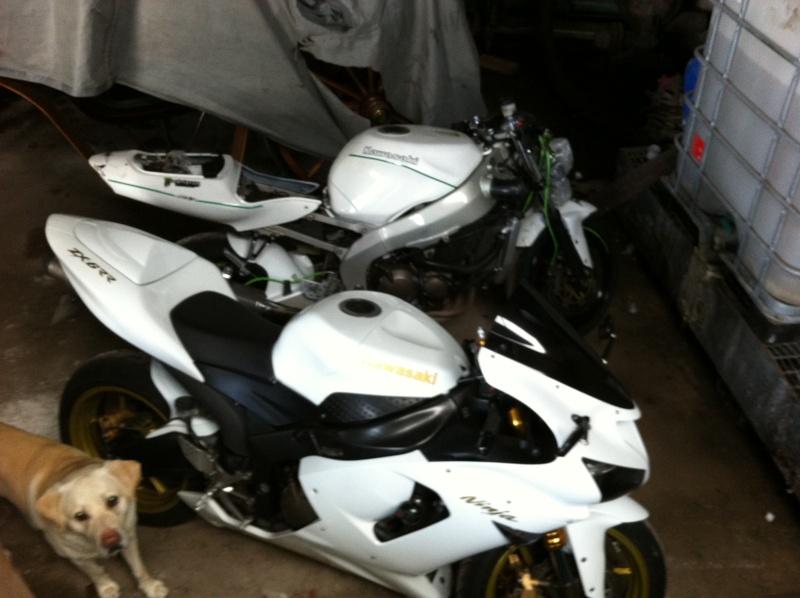 Ma 1ère Moto Piste. Zx6R-99 EN mode préparation Img_0814