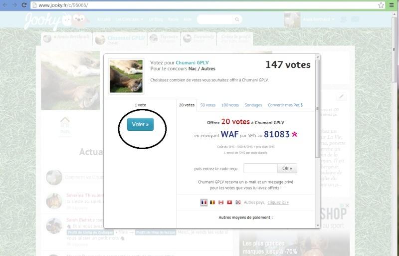 Votez pour Chumani GPLV, ChadowGPLV  et réglisse GPLV sur jooky.fr Chuman14