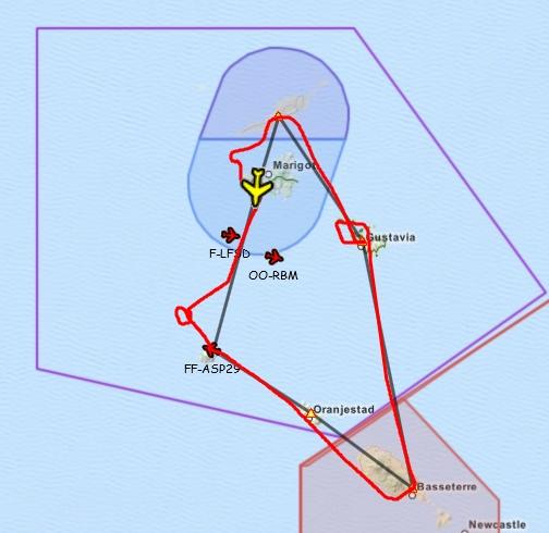 Le soleil des Antilles Plan10