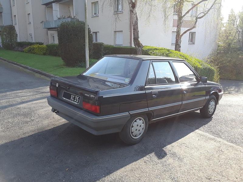 Renault 9 Spring 1,2 de 1988 ....... encore une 1110