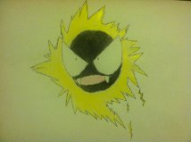Some handdrawn gastly forms Electr10