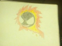 Some handdrawn gastly forms Fire10