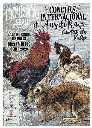 """XXXIII Exposició Internacional d'Aus de Raça """"Ciutat de Valls"""" 17 - 19 Enero 2020 Img-2011"""
