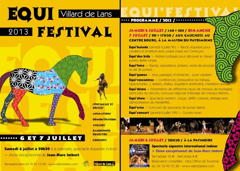 Equi'Festival à Villard-de-Lans 2ème édition – les 6 et 7 juillet 2013 - LE PROGRAMME!! Bd_fly11