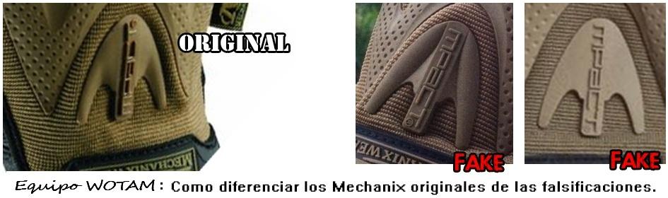 Guantes Mechanix. ¡Cuidado con las falsificaciones! Como_d10