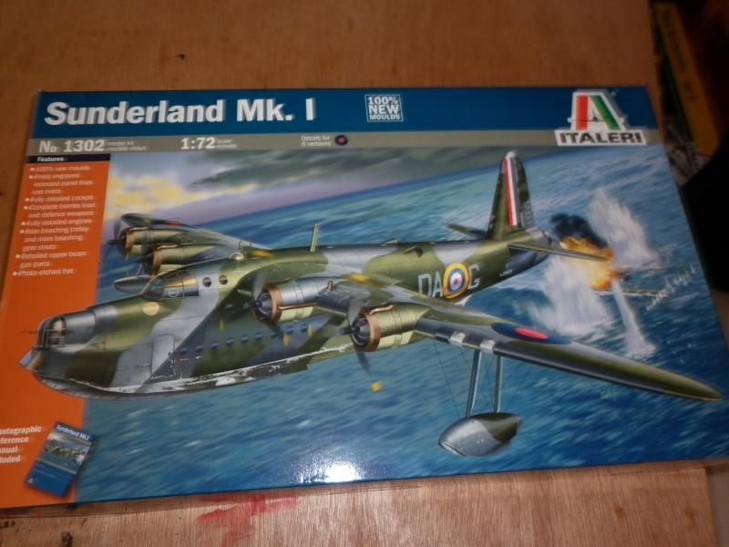 sunderland mk.i au 1/72 de chez italeri P1000910