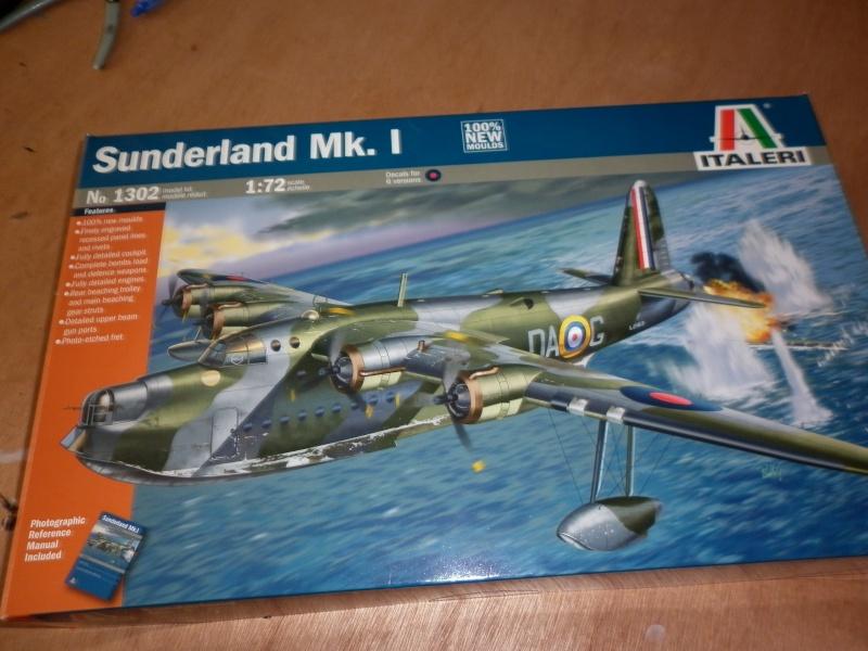 sunderland mk.i au 1/72 de chez italeri P1000911