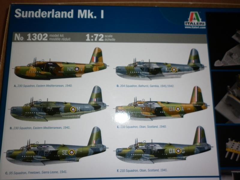 sunderland mk.i au 1/72 de chez italeri P1000914