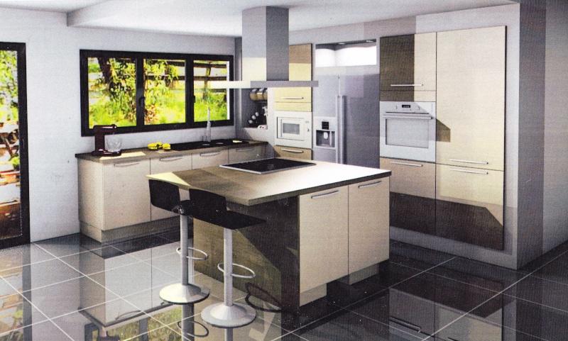 cuisine ouverte sur salle manger et salon ides dco et surtout couleurs