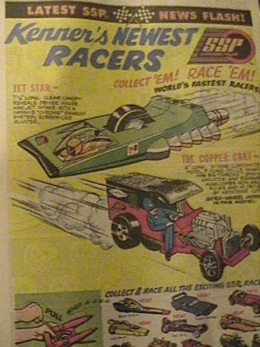 Cascadeurs Giro Jet et  Kenner SSP racers -bujl810