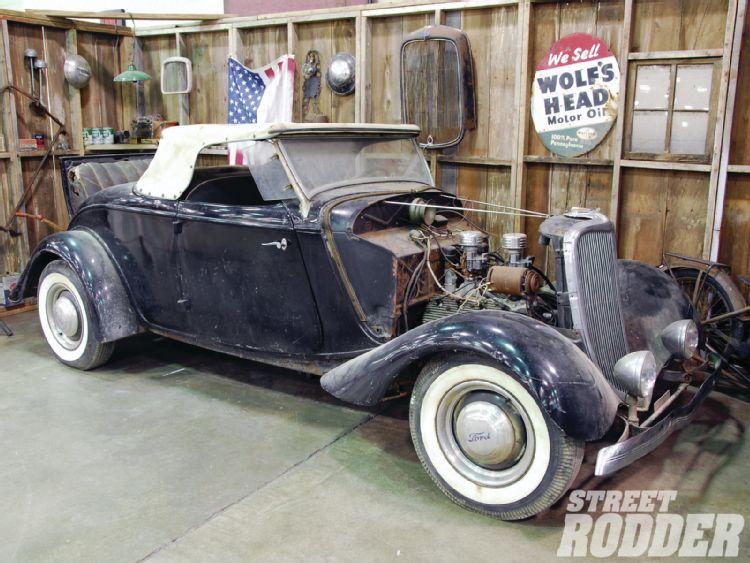 1933 - 34 Ford Hot Rod 1107sr22