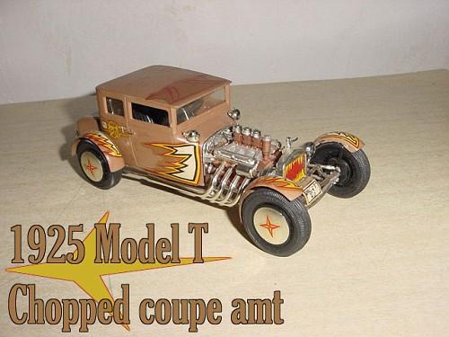 hot rod - model kit  - amt  - 1/25 1925fo11
