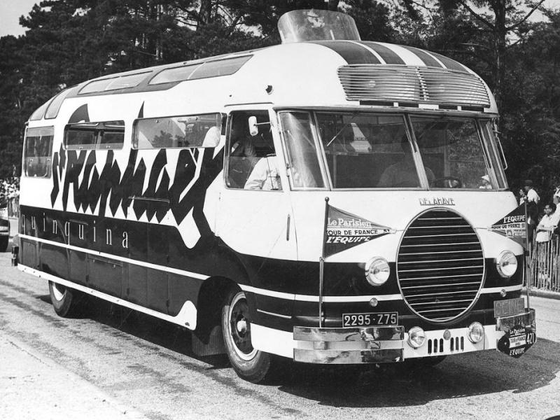 Les véhicules de la Caravane du Tour de France 1950's & 1960's 1950_910
