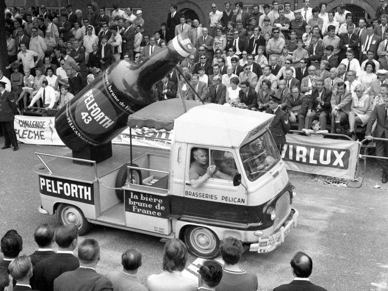 Les véhicules de la Caravane du Tour de France 1950's & 1960's 1969_910
