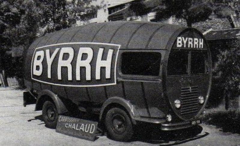 Renault 1400 KG publicitaire BYRRH - caravane du tour de France 25067010