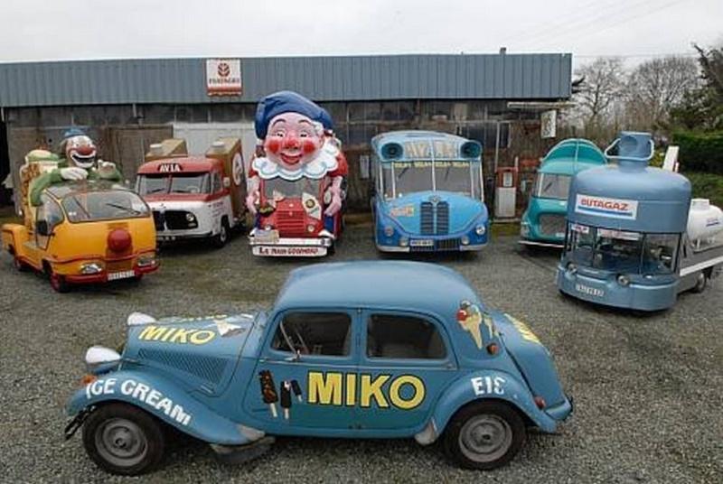 Les véhicules de la Caravane du Tour de France 1950's & 1960's - Page 2 25344411