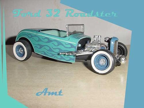 hot rod - model kit  - amt  - 1/25 32road10