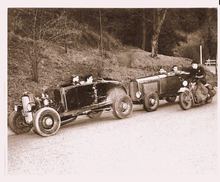 "Hot rod in street - Vintage pics - ""Photos rétros"" -  - Page 2 57744310"