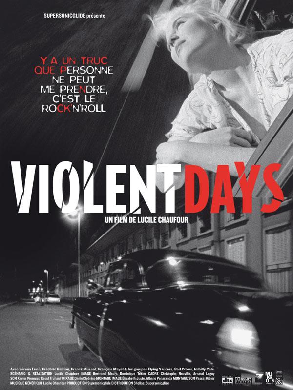 Violent days - Lucile Chaufour -  2009 59701-10