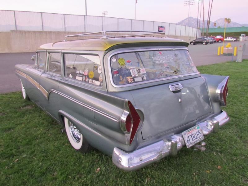 Ford 1957 & 1958 custom & mild custom  67948110