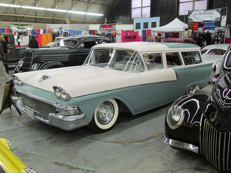 Ford 1957 & 1958 custom & mild custom  68442510