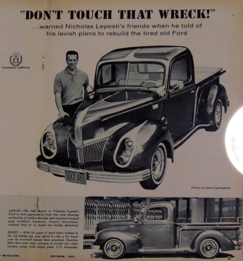 Ford & Mercury 1939 - 40 custom & mild custom 69270611