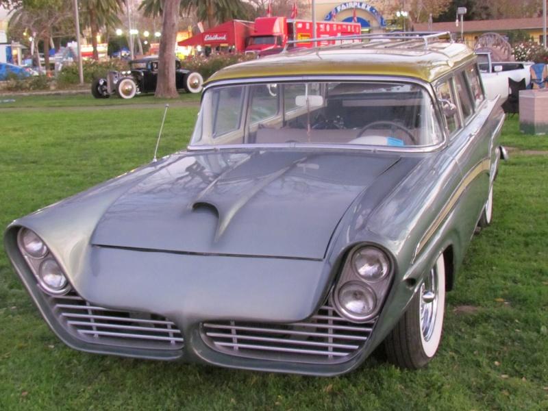Ford 1957 & 1958 custom & mild custom  69409210