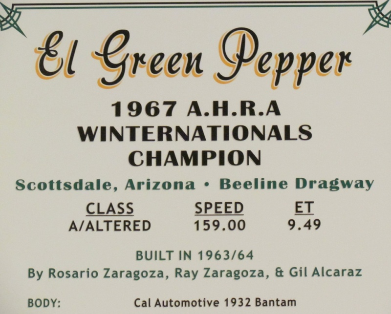 Slingshot & vintage dragster  69695010