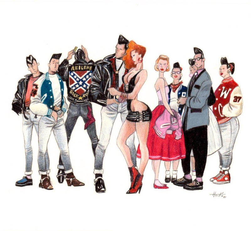 Illustrations rock 'n' roll - Rock 'n' roll illustration 69749_10