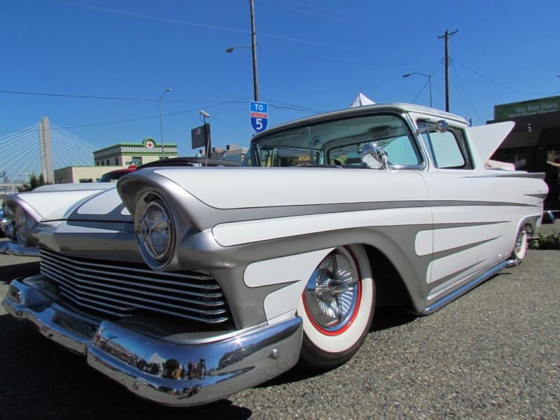 Ford 1957 & 1958 custom & mild custom  77246512