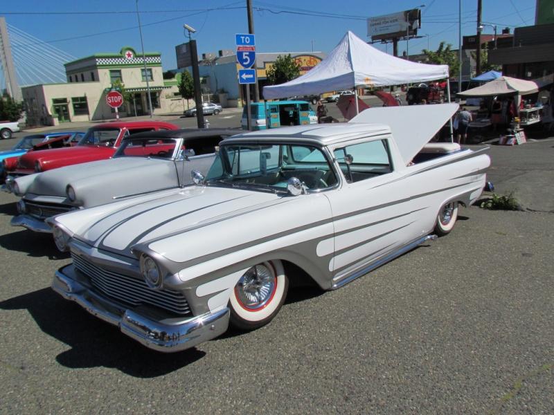 Ford 1957 & 1958 custom & mild custom  77246513