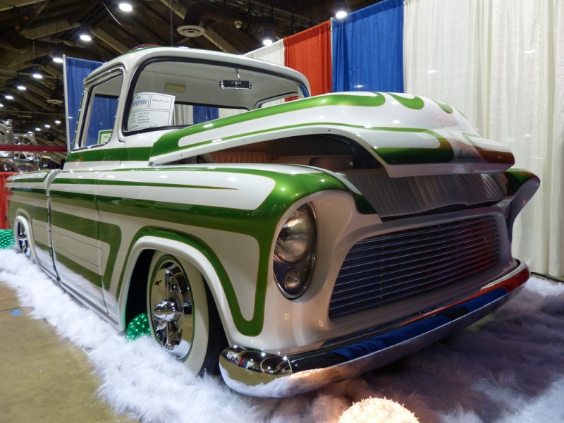 Chevy pick up  1955 - 1959 custom & mild custom 84290110